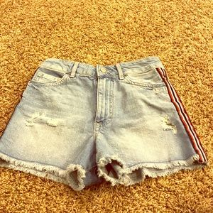 Size 24 Forever 21 jean shorts